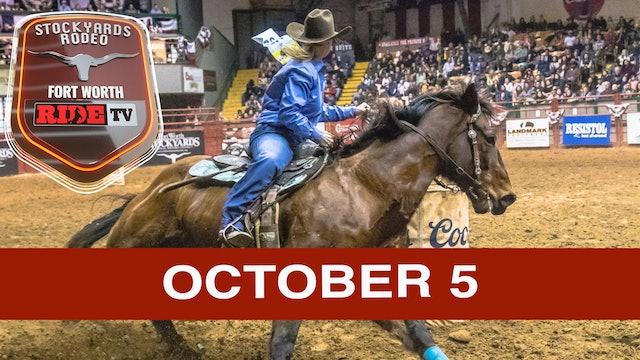 Stockyards Rodeo October 5, 2019