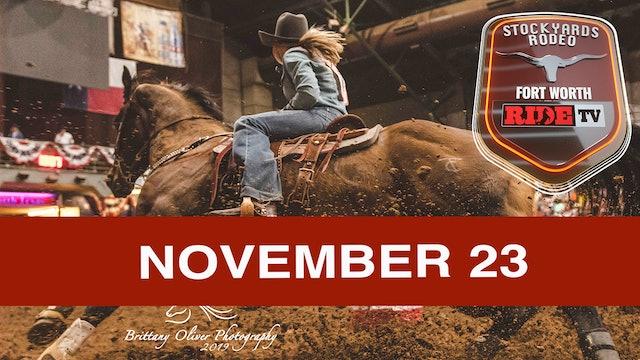 Stockyards Rodeo November 23rd, 2019