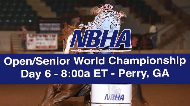 NBHA Open/Senior World Day 6 - Perry, GA