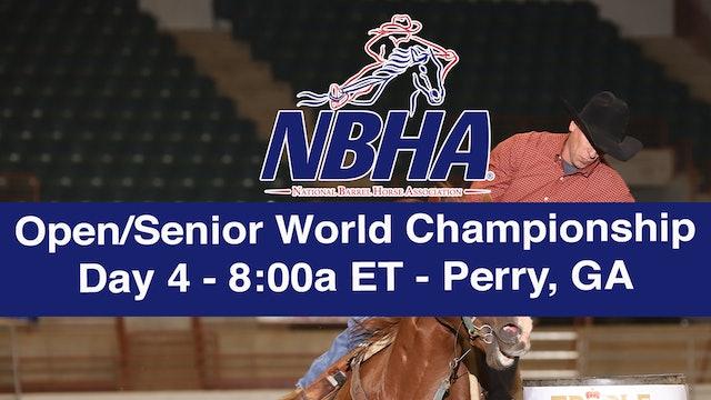 NBHA Open/Senior World Day 4 - Perry, GA