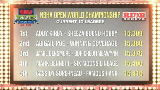 Open Finals Draw 131-135