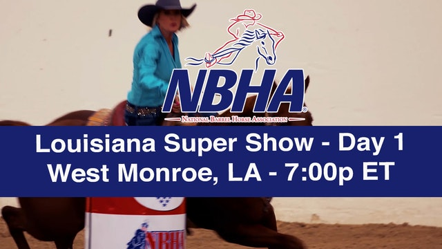 2019 NBHA Louisiana Super Show - Day 1