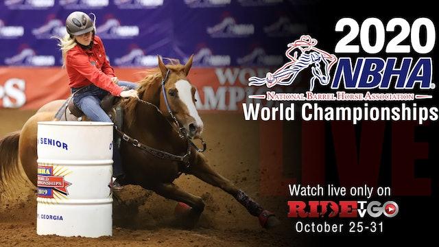 Tuesday: 2020 NBHA World Championships Senior 1st Go & Open #1-200