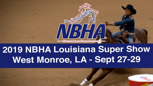 2019 NBHA Louisiana Super Show
