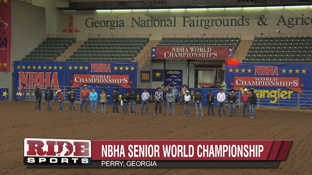 Senior Finals Grand Entry