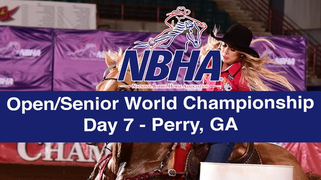 NBHA Open/Senior World Day 7 - Perry, GA