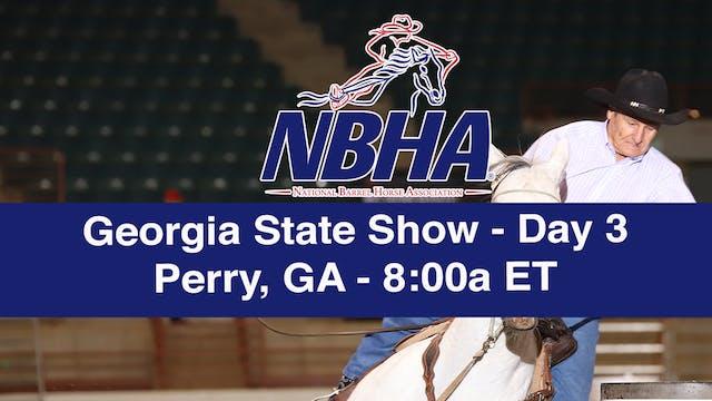 2019 NBHA Georgia State Show - Day 3