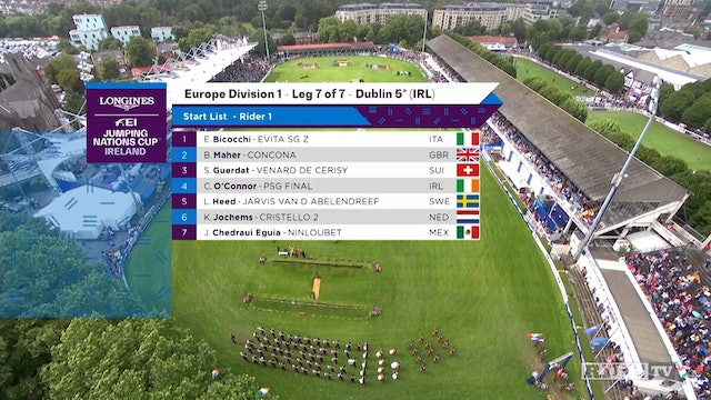 2018-2019 FEI Jumping Nations Cup: Dublin, Ireland