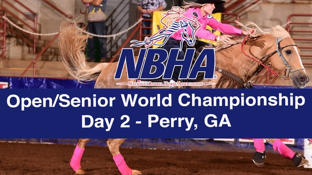 NBHA Open/Senior World Day 2 - Perry, GA