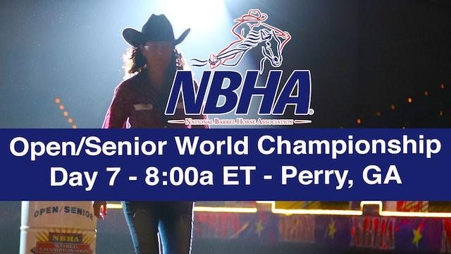NBHA Open/Senior World Day 7 - Perry, GA