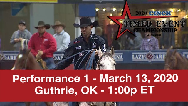2020 Cinch Timed Event - Performance 1