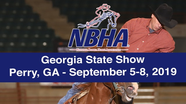 2019 NBHA Georgia State Show - Perry, GA