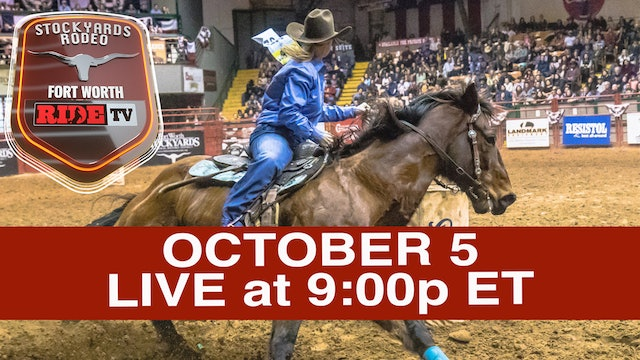 Stockyards Rodeo LIVE presented by RIDE TV