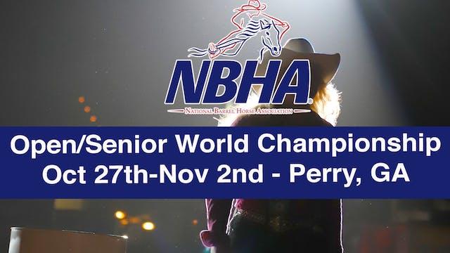 2019 NBHA Open/Senior World Championship