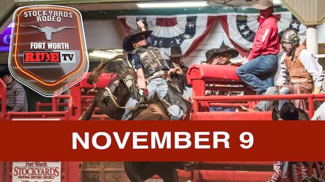 Stockyards Rodeo November 9th, 2019