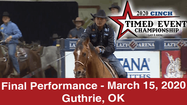 2020 Cinch Timed Event - Final Perfor...