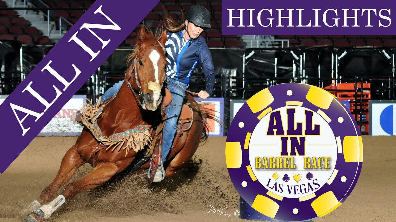 2018 ALL IN Barrel Race