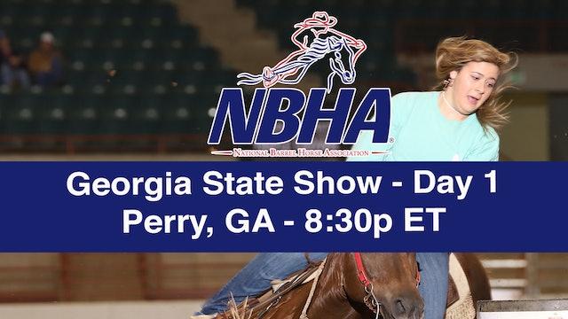 2019 NBHA Georgia State Show - Day 1
