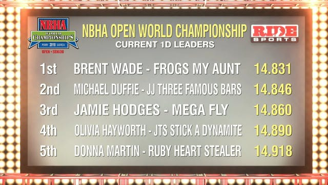 Open Finals Draw 231-235