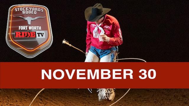 Stockyards Rodeo November 30th, 2019