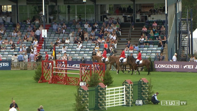 FEI Jumping Nations Cup: Hickstead 2018-2019