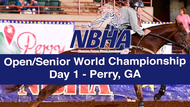 NBHA Open/Senior World Day 1 - Perry, GA