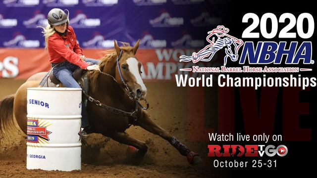 Monday: 2020 NBHA World Championships Sweepstakes