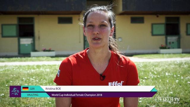 FEI World Cup Vaulting Finals: Saumur France 2019