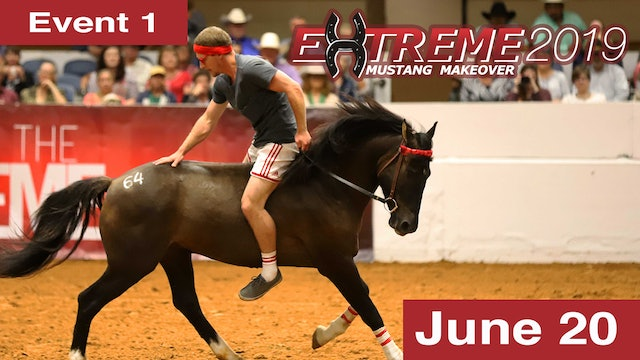 Extreme Mustang Makeover: Adult Handling & Conditioning