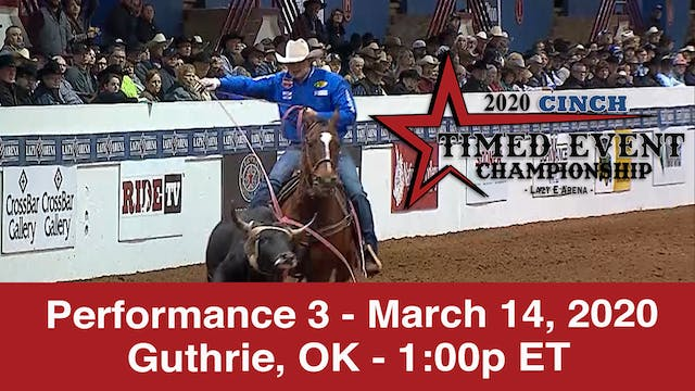 2020 Cinch Timed Event - Performance 3