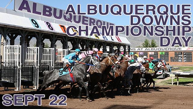 Albuquerque Downs Championship Day