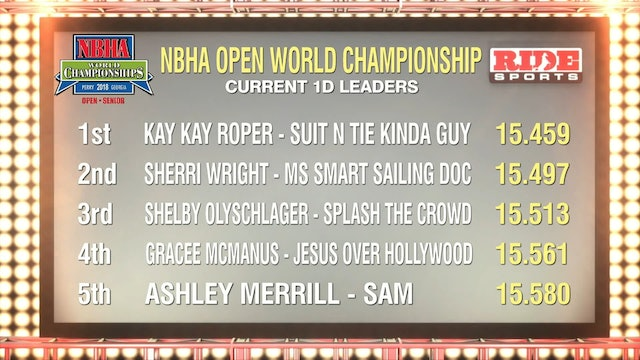 Open Finals Draw 076-080