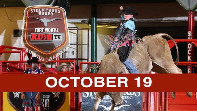 Stockyards Rodeo October 19, 2019