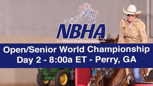 NBHA Open/Senior World Day 2 - Perry, GA