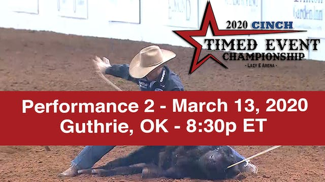 2020 Cinch Timed Event - Performance 2