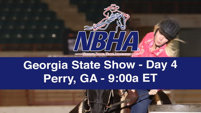 2019 NBHA Georgia State Show - Day 4