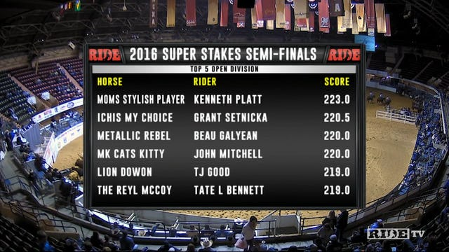 2016 NCHA Super Stakes Open Finals