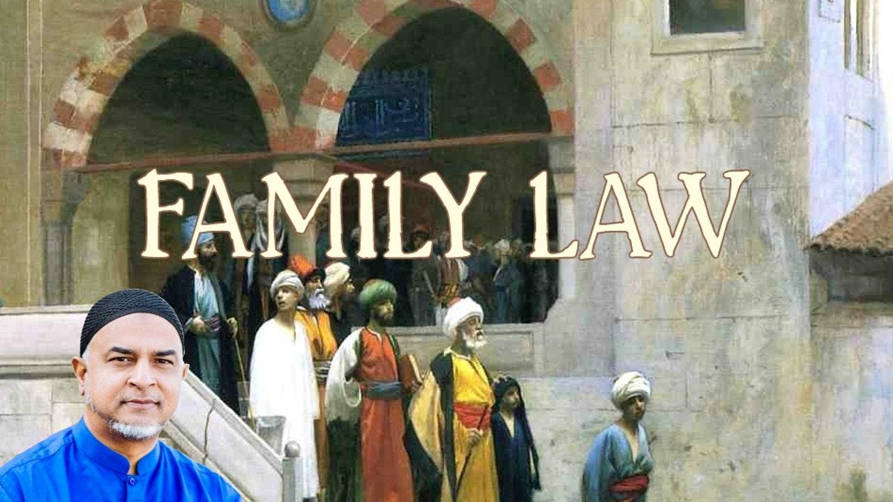 Family Law - Imam Afroz Ali