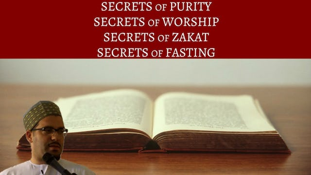 Purity, Prayer, Zakat, & Fasting
