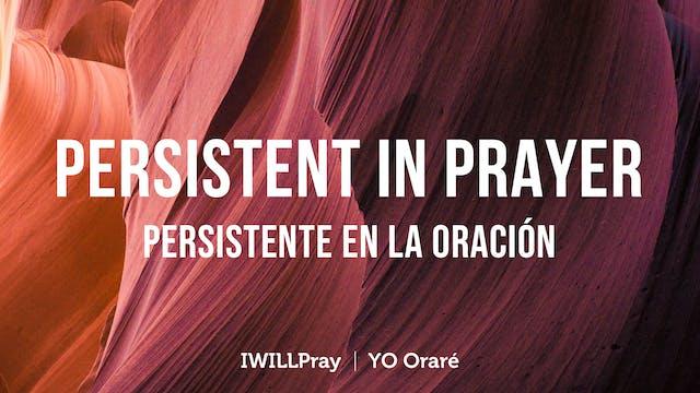 Persistent In Prayer | Persistente En...