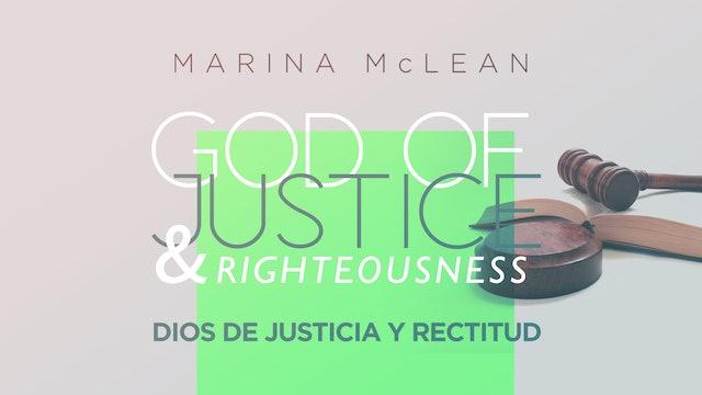 God of Justice & Righteousness (Dios de Justicia y Rectitud)