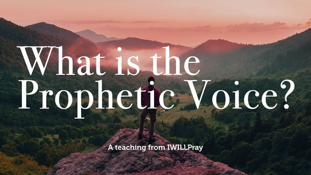 What is the Prophetic Voice?