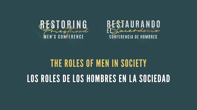 The Roles of Men in Society (Los Role...