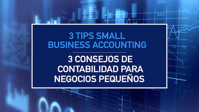 3 Tips Small Business Accounting