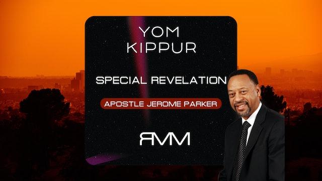 Yom Kippur | Apostle Jerome Parker