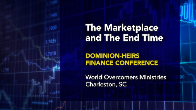 The Marketplace and The End Time