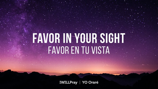 Favor In Your Sight / Favor En Tu Vista