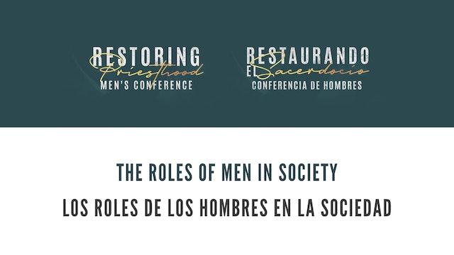The Roles of Men in Society (Los Roles de los Hombres en la Sociedad)