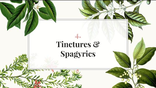 Herb Magic Lesson 4: Tinctures & Spag...