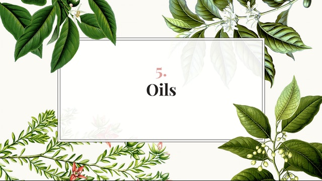 Herb Magic Lesson 5: Oils